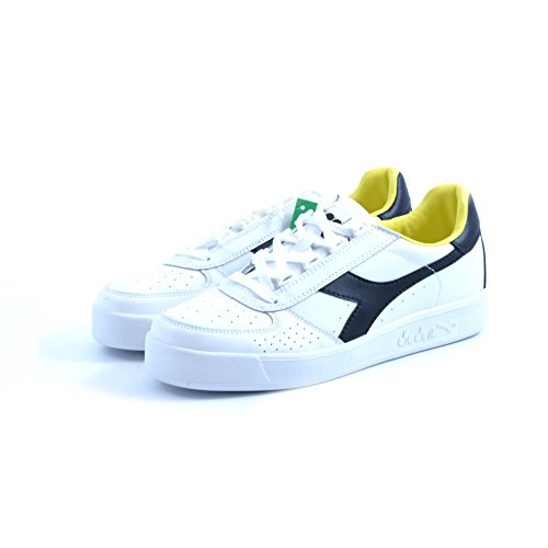 Diadora white yellow black Calzado B Elite qawPH