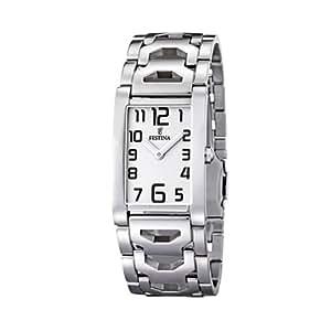 FESTINA F16464/1 - Reloj de mujer de cuarzo, correa de acero inoxidable