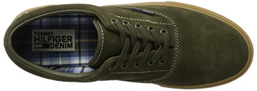Olive Vert Sneakers Basses V2385ibe Fm0fm00790 Night Tommy 010 Homme 4b Jeans 0qBnPS