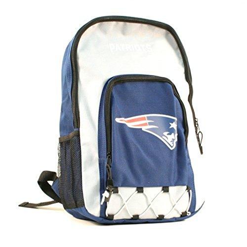 New England Patriots Backpack - Navy Blue & Gray