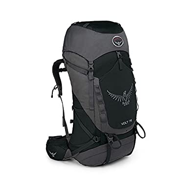 Osprey Packs Volt 75 Backpack, Tar Black