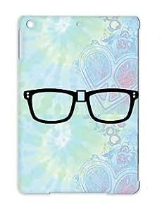 Satire Nerd Glasses Geek Funny Academics Black Protective Case For Ipad Air