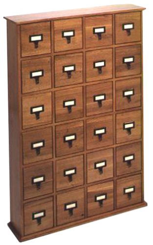 Amazon.com: Library Style CD Storage Cabinet (Discontinued by ...