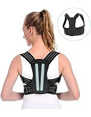 Anoopsyche Haltungskorrektur Geradehalter zur Haltungskorrektur Rückenstütze Rückenbandage Haltungstrainer Rücken Damen und Herren-Größenverstellbar