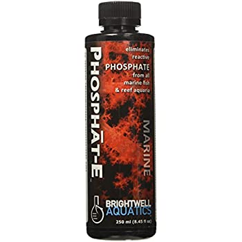 Brightwell Aquatics Phosphat-E Liquid Phosphate Remover for All Marine Aquaria, 250 mL