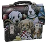 Howie's Hearts Puppy Lunch Box – Design May Vary (Heart Shaped Liver Treats Included), My Pet Supplies