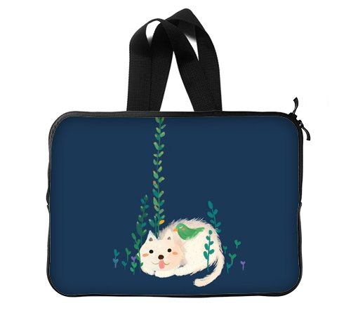 Cute Lovely Cartoon Cat Kitty Meow Mog Puss Art Deco Pain...