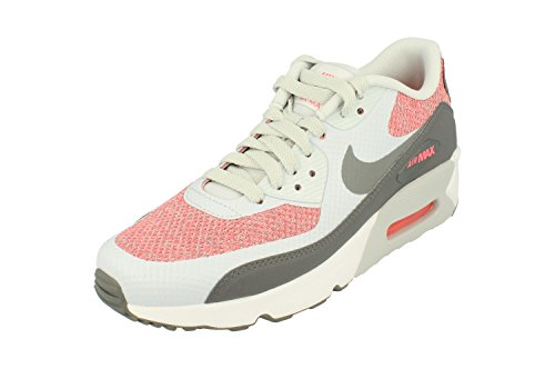 Nike Air Max 90 Ultra 2.0 SE GS Running Trainers 917989 Sneakers Shoes (UK 5.5 us 6Y EU 38.5, Pure Platinum Cool Grey 001) by Nike