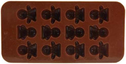 Censhaorme Mini-Engel-Form-Fondant-Kuchen-Silikon-Form-Schokoladen-Form-Kuchen-Pl/ätzchen-Eiscreme-Biscuits S/ü/ßigkeit Schokolade-Form-Backen-Kuchen-Dekoration-Werkzeuge