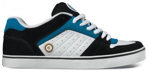 Etnies Hombres Sheckler 2 Sneaker Negro / Turquesa
