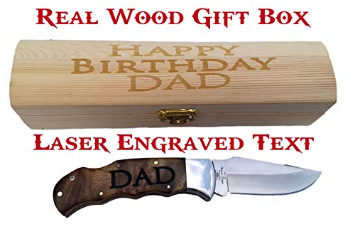 Brass Honcho Personalized Gifts for Men | Engraved Pocket Knife | Custom Engraved Handle and Gift Box | Great Last Minute Gift by Brass Honcho (Image #1)