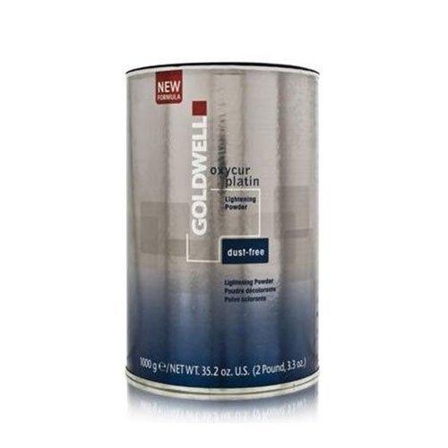 Goldwell Oxycur Platin Dust-Free Lightening Powder 35.2oz by (Dust Free Lightening)