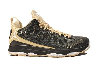 Men's Nike Air Jordan CP3. 4 VI X Black White Vegas Gold Sneakers : G22b725