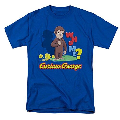 Ptshirt.com-19189-Trevco Men\'s Curious George Who Me T-Shirt-B00IAAC20S-T Shirt Design