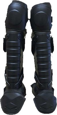 Tactical Police Riot Shin, Knee and Ankle Guards