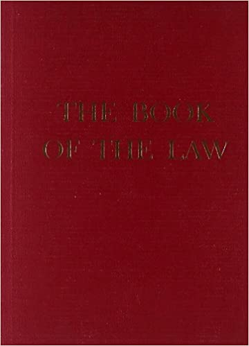 the book of the law aleister crowley 8601419853601 amazon com books