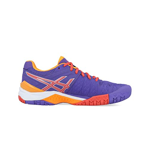 Viola Scarpe Gel Da 6 corallo Asics Tennis arancione resolution Donna tvw6T0
