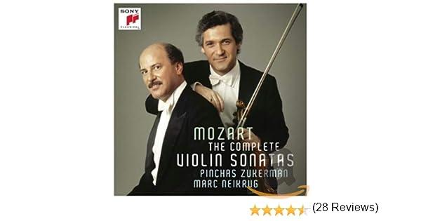 The Mozart Sonatas For Violin And Piano: Pinchas Zukerman, Mozart: Amazon.es: Música