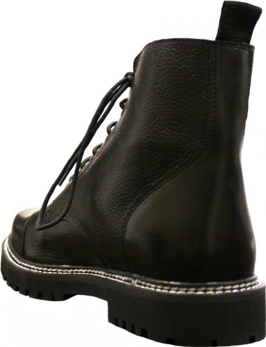 Real Boots Leather Chopper Boots Wear Leather Motorcycle German Combat twg0ZIq