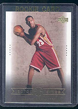 2003 Upper Deck 14 On Parade Lebron James Rookie Card