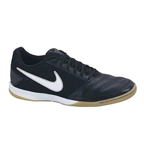 Nike Mens Gato II Mens Indoor Soccer Shoes, BLACK/WHITE-M...