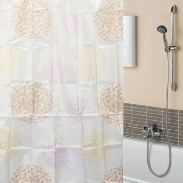170 x 180 cm fuegos artificiales-impermeable mampara de ducha baño cortina de poliéster de fibra: Amazon.es: Hogar