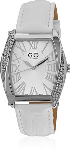Gio Collection Analog White Dial Women's Watch – G0040-02