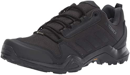 adidas Outdoor Men s Terrex AX3 GTX Hiking Boot, Black Black Carbon, 10 M US