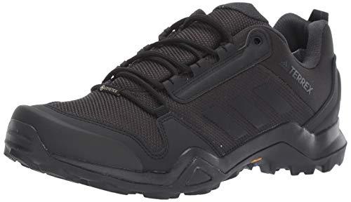 adidas outdoor Men's Terrex AX3 GTX Hiking Boot, Black/Black/Carbon, 12 M US