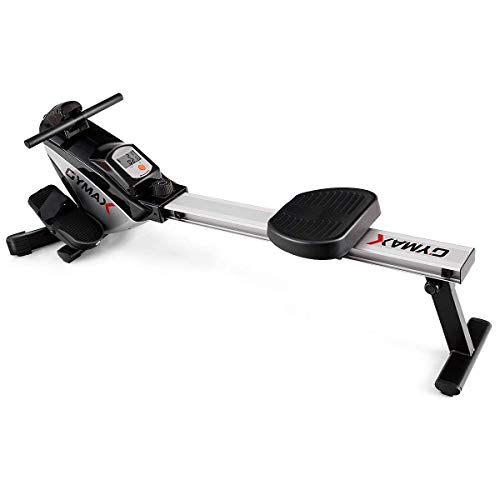 Goplus Magnetic Rowing Machine Folding Rower with LCD Display and Adjustable Resistance Exercise Cardio Fitness Equipment by Goplus (Image #2)