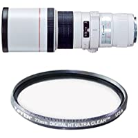 Canon EF 400mm f/5.6L USM Super Telephoto Lens for Canon SLR Cameras Filter Bundle
