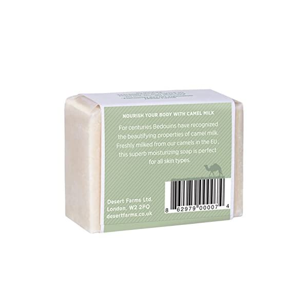 RAW Camel Milk Soap (Hemp & Patchouli)