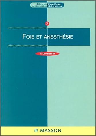 En ligne téléchargement Foie et anesthésie pdf, epub