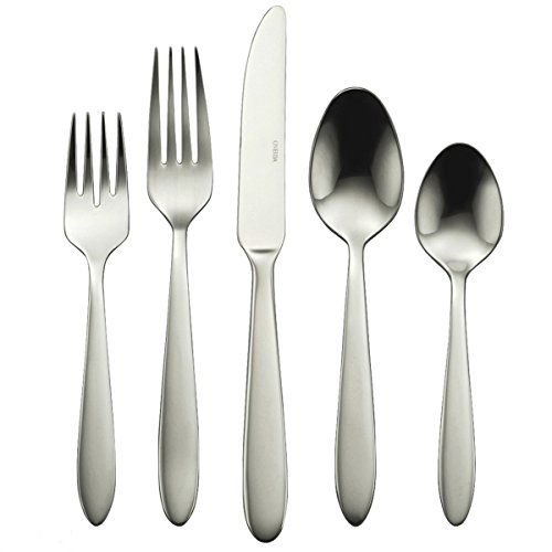 Oneida B336045A Mooncrest 45-Piece Flatware Set, Service for 8,Silver,45 Piece ()