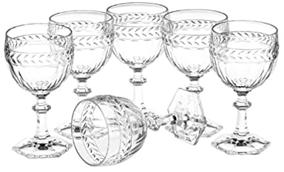 Villeroy & Boch Miss Desiree Crystal Water Goblets, Set of 4