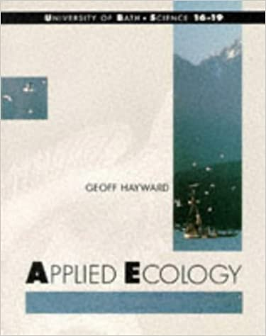 Book Bath Advanced Science - Applied Ecology