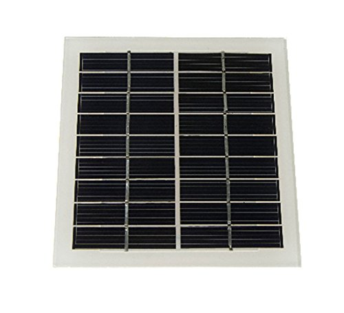 Solar Panel (9v 220ma)/Palm Sized Panels/The Surface Of The Glass, Sturdy And Durable