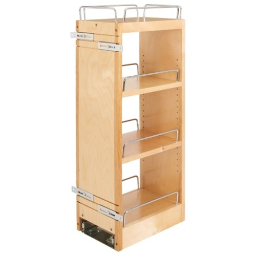 Rev-A-Shelf 448-BBSCWC-8C 448-BBSCWC Series 12 Inch Two Tier Pull Out Upper Cabi, Wood