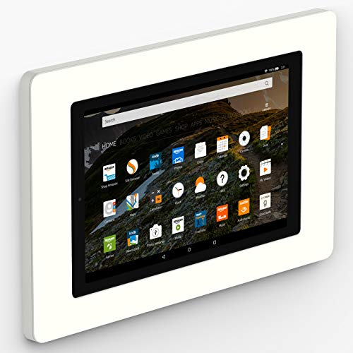 VidaMount On-Wall Tablet Mount - Amazon Fire HD10 7th Gen - White (2017)
