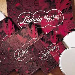 "Ludwig LW213C Weather Master 2-Ply Clear 13"" Batter Drumhead"