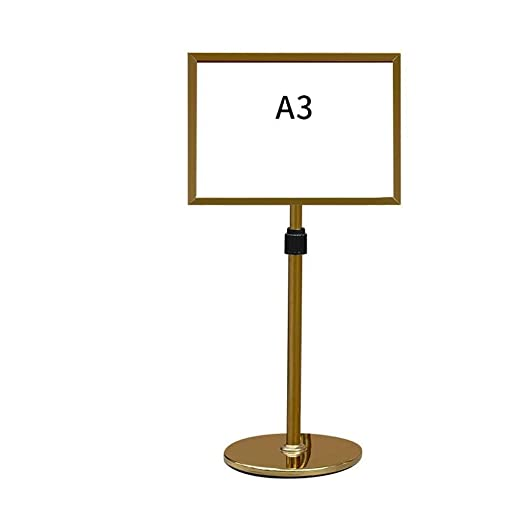 AJZGF Soporte de exhibición del Cartel Soporte para letreros ...