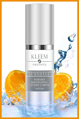 Vitamin C Serum with Hyaluronic Acid for Face and Eyes - Org