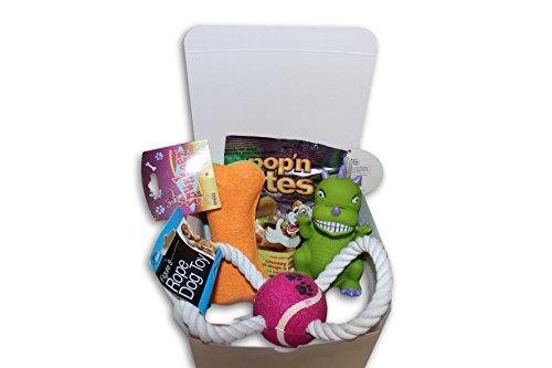 Happy Dog Care Package New Pet Gift box (Dog Treat Gift Baskets)