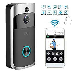 Video Doorbell Wifi Smart Wireless Doorbell 720p Hd Security Camera Two Way Talk Video 8g Sd Card App Control For Ios Android