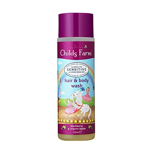 Childs Farm Blackberry & Organic Apple Hair & Body Wash 250ml CF125