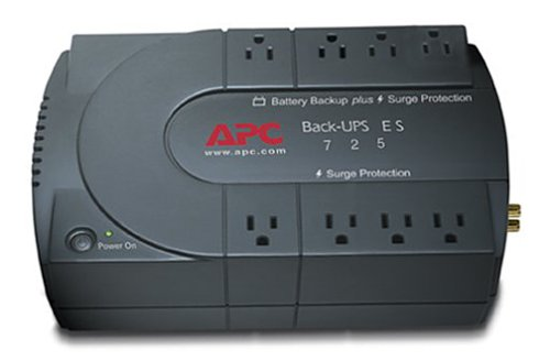 APC Back-UPS ES 725 Broadband Backup Power Supply (Part Number BE725BB)