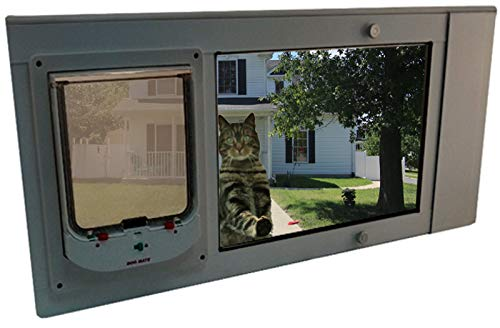 Security Boss Animate Electronic Single Pane Sash Window Insert by Security Boss