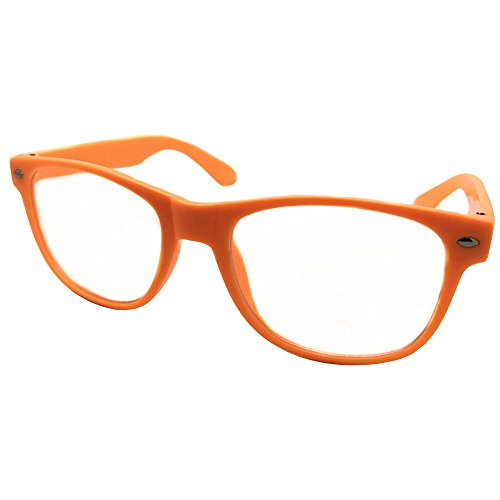 FancyG Classic Retro Fashion Style Clear Lenses Glasses