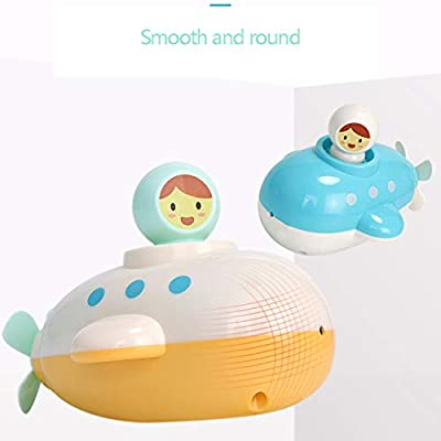 ebera Baby Kid Clockwork Boat Children Bathing Water Toy Water Toy Shower Games Play Swimming Shower Games Cartoon Toys Random Color: Home & Kitchen