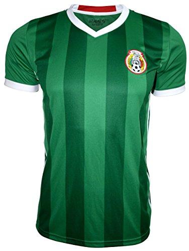 Rass Sport Soccer Jersey Copa America Centenario - MEXICO - MDYG0844-GRN-S/M -
